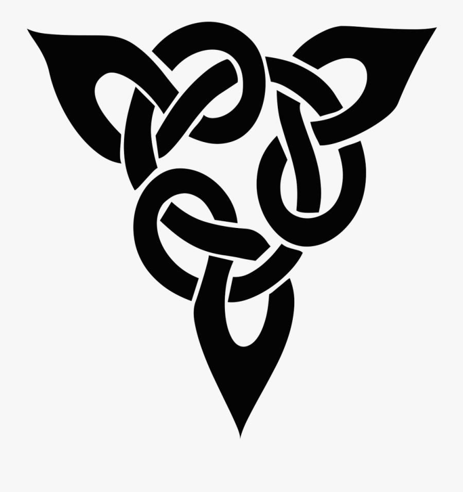 Small Celtic Tattoos Design, Transparent Clipart
