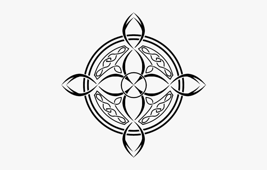 Celtic Cross Tattoo Celtic Knot Compass Tattoo Free Transparent Clipart Clipartkey
