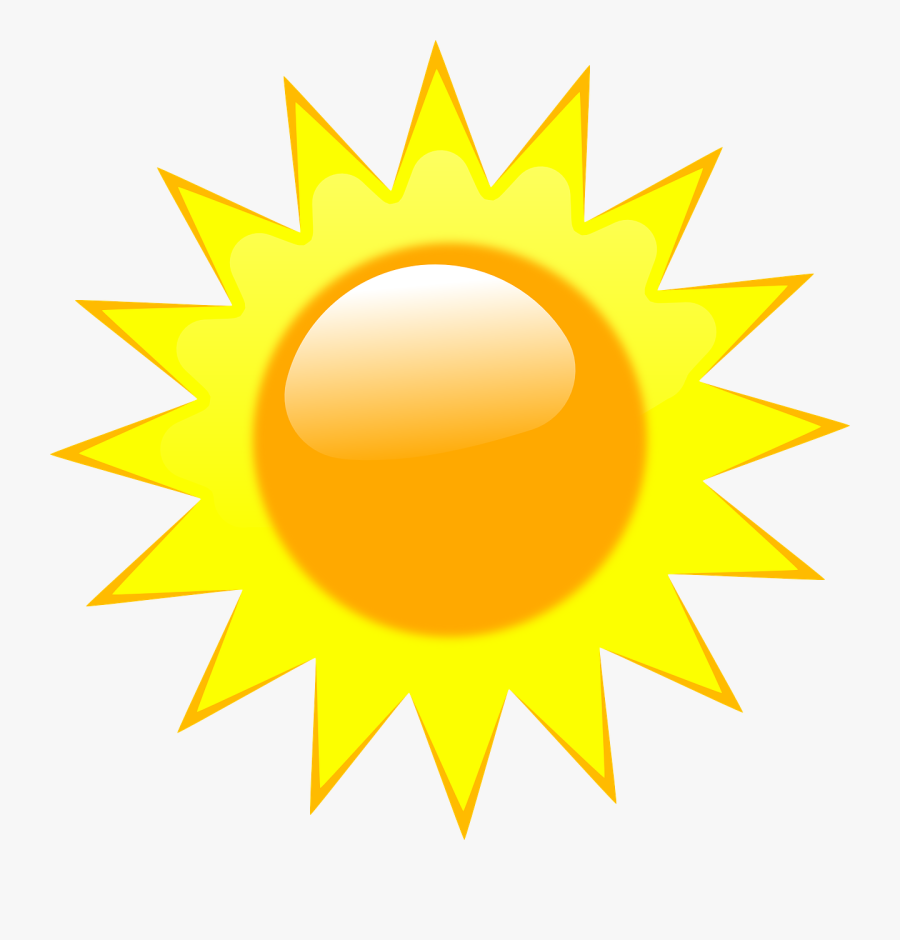 Sun, Rays, Light, Summer, Sunlight, Sunny, Ray, Bright - Desenho De Um Raio De Sol, Transparent Clipart