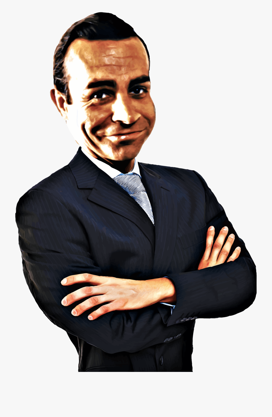 Sean Connery Caricature Icons Png - Sean Connery, Transparent Clipart