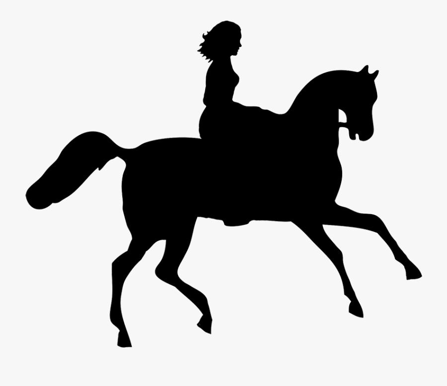 Transparent Horse Clip Art - Girl Riding A Unicorn, Transparent Clipart