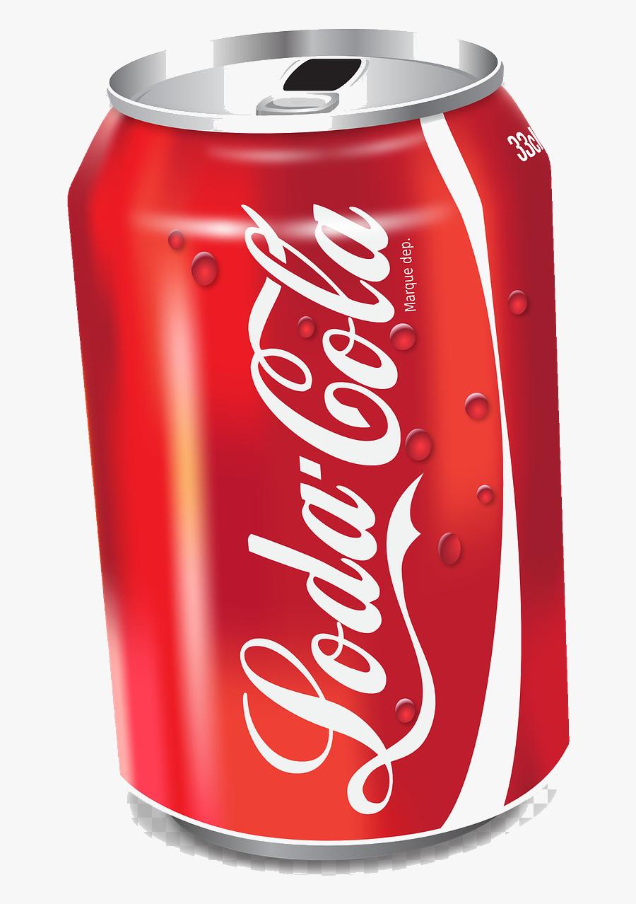 Soda Can Drink Beer Food Transparent Image Clipart - Picsart Coca Cola Png, Transparent Clipart