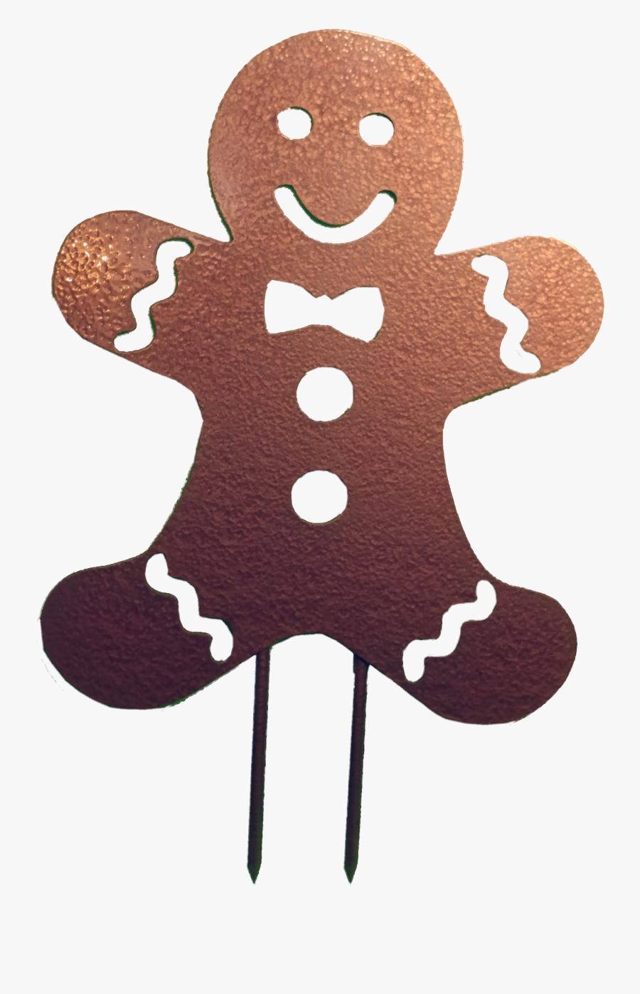 Gingerbread Man Biscuits Scalable Vector Graphics - Gingerbread Man With Santa Hat, Transparent Clipart
