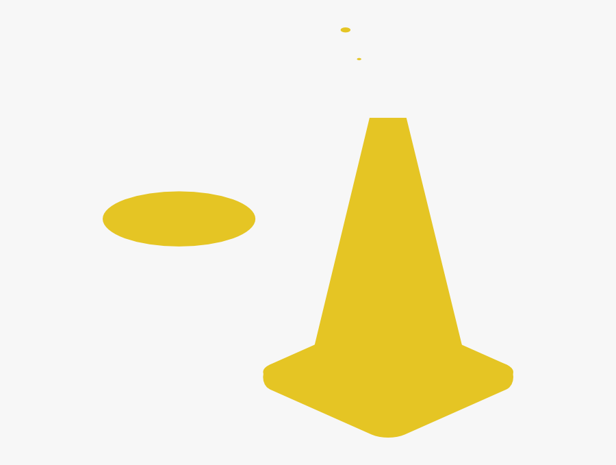 Traffic Clip Art At - Yellow Traffic Cone Clipart, Transparent Clipart