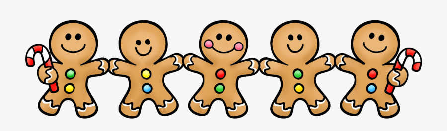Decorate Gingerbread Man Family Project Letter, Transparent Clipart