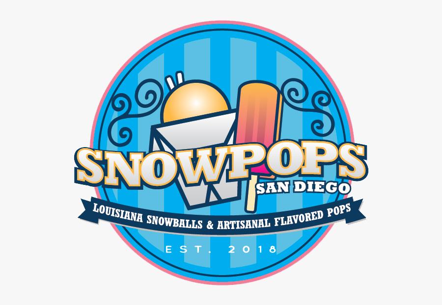 Snowpopssd - Snow Pops San Diego, Transparent Clipart