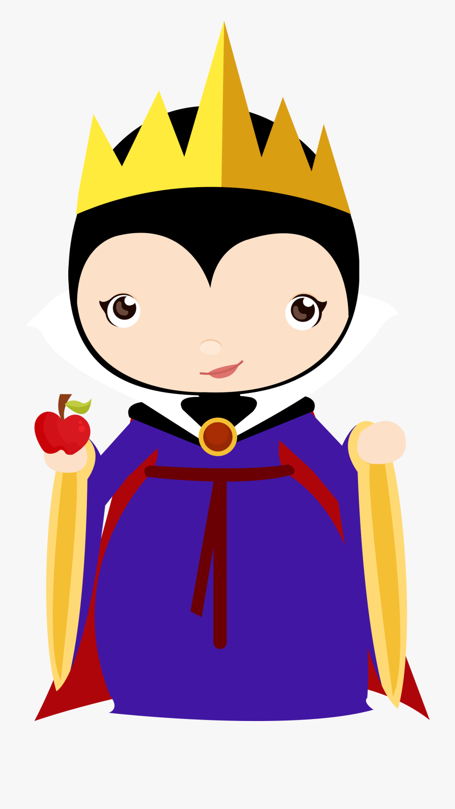 Pin By Angel Dias On Moldes Snow White, Clip Art - Baby Disney Villains Svg, Transparent Clipart