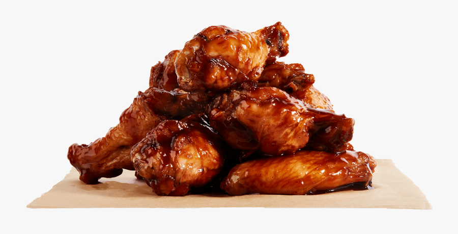 Bbq Chicken Wings Png, Transparent Clipart