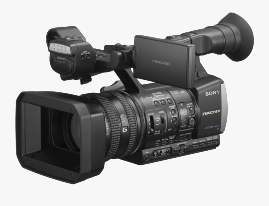 Camcorder 1080p Video Camera Point And Shoot Camera - Sony Nx5 Video Camera, Transparent Clipart