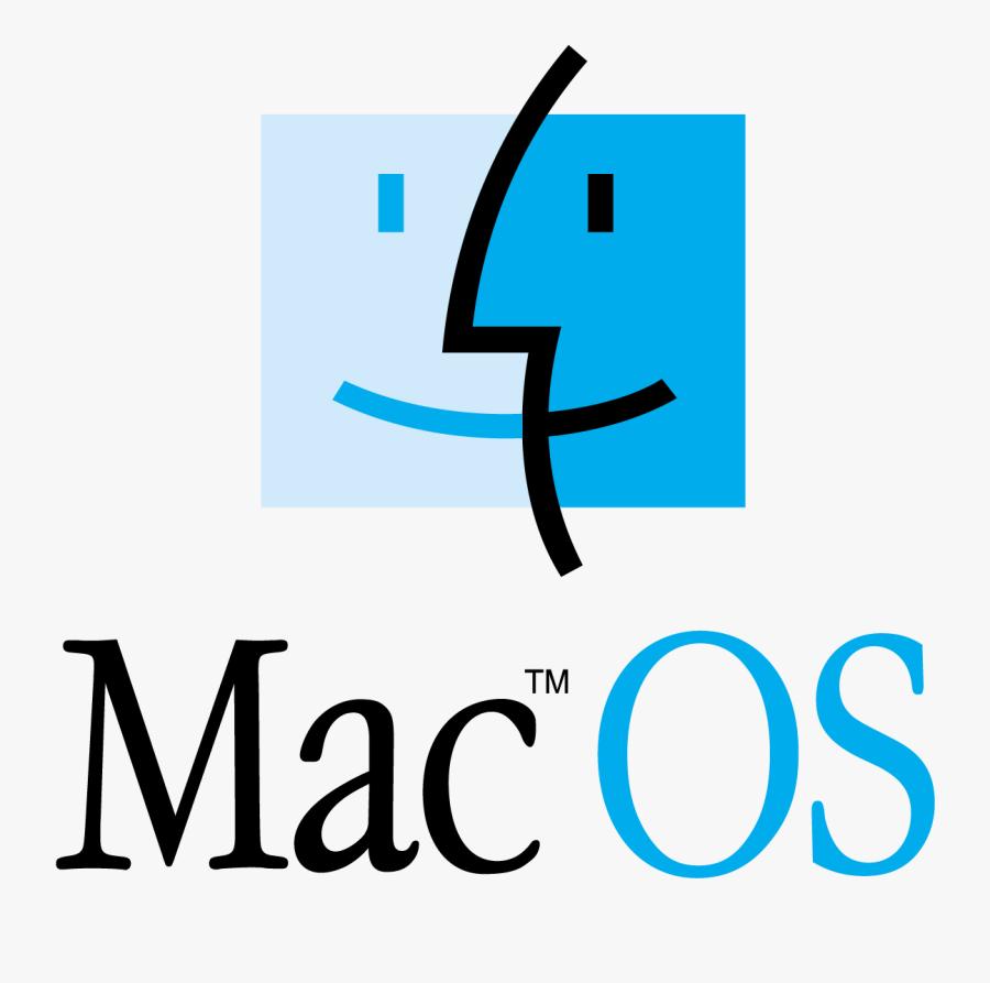 Apple Mac Os Retro Logo Vector - Apple Mac Os Logo, Transparent Clipart