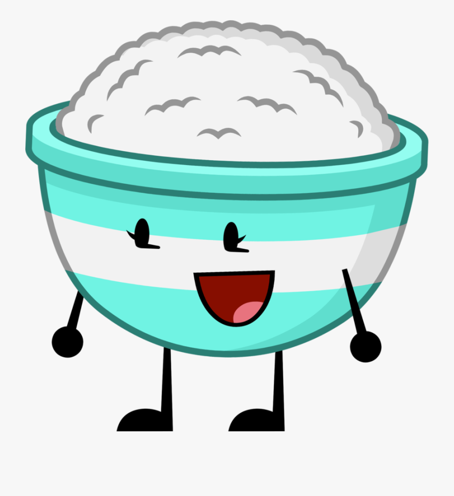 Rice Bowl Updated By Jimmyturner96 - Bowl Of Rice With A Face Clipart, Transparent Clipart