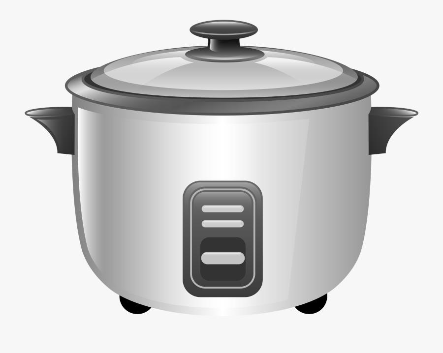 White Smartcooker Png Clipart - Clip Art Rice Cooker, Transparent Clipart