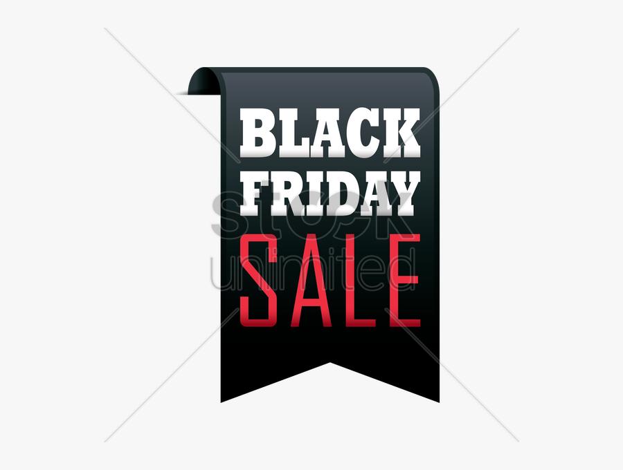 Black Friday Sale Banner Png, Transparent Clipart
