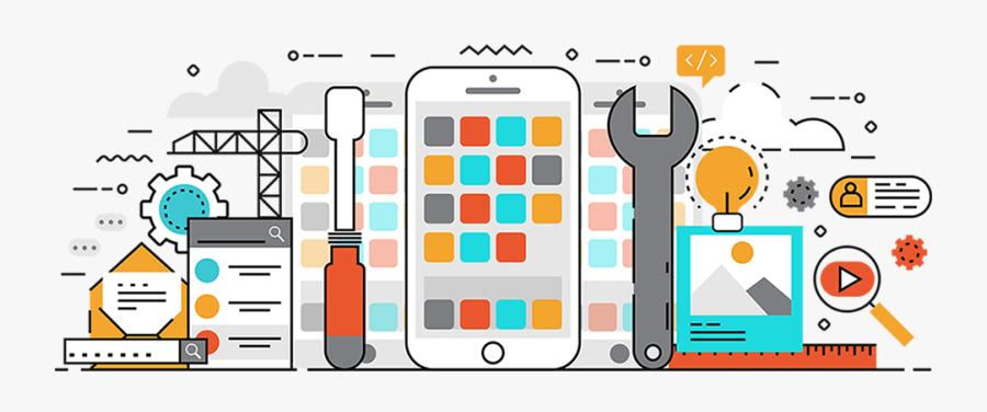 Mobile App Development Clipart, Transparent Clipart
