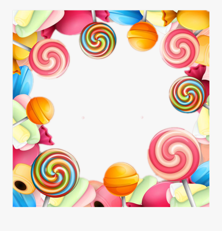 Transparent Colorful Candy Clipart - Candy Background, Transparent Clipart