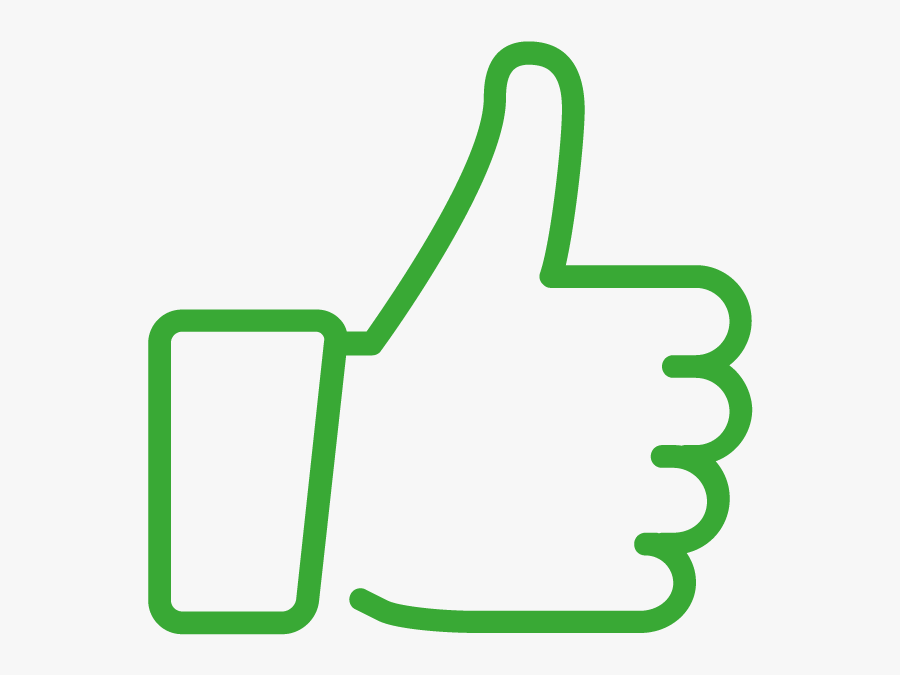 Youtube Social Media Facebook Like Button Clip Art - Like Button Transparent Background, Transparent Clipart