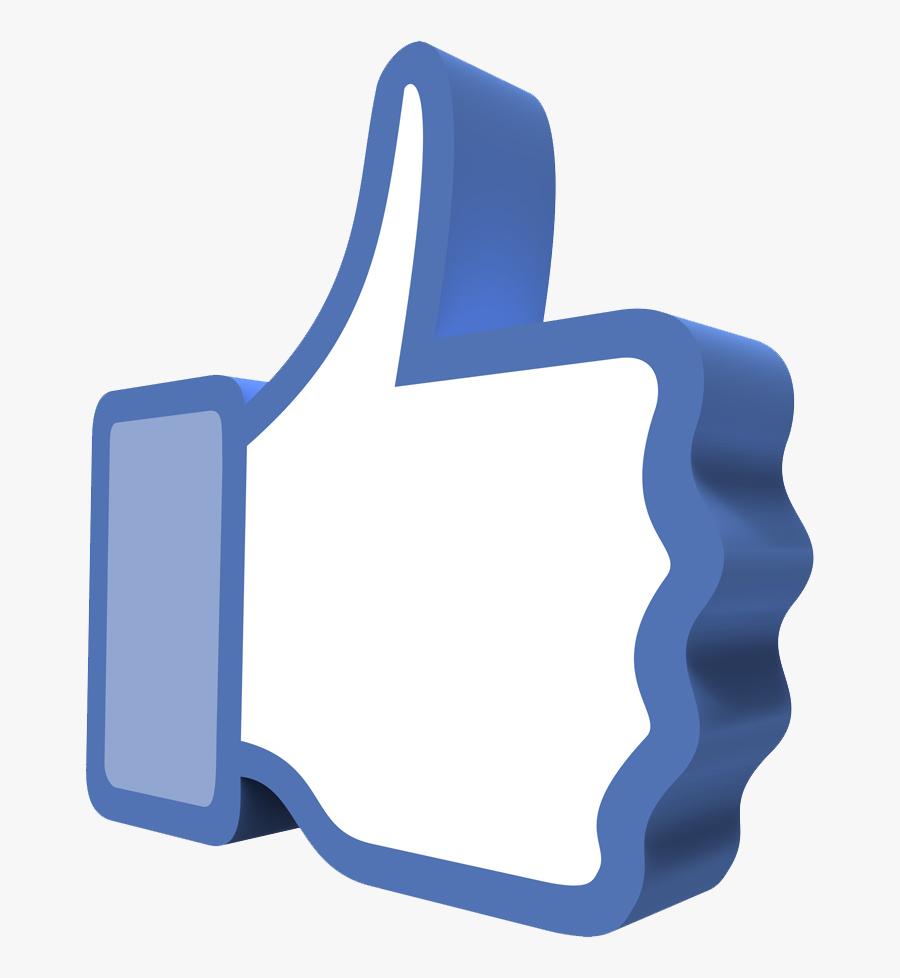Png & Vector - Like Facebook 3d Png, Transparent Clipart