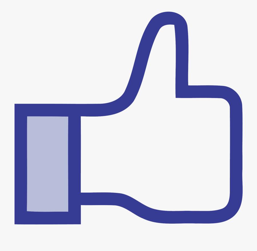 Transparent Facebook Like Button Png Transparent - Like Facebook Png, Transparent Clipart