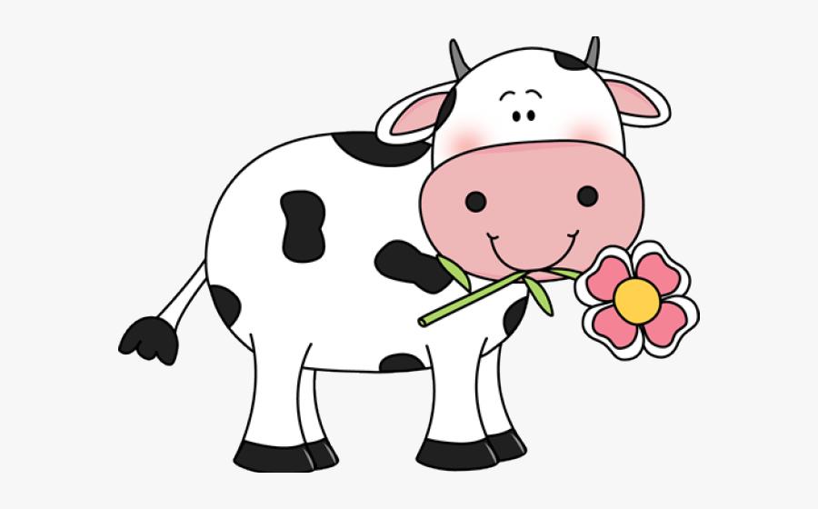 Transparent Background Cute Cow Clipart, Transparent Clipart