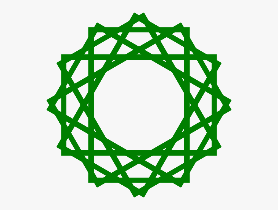 Islamic Geometric Pattern Png - Arabic Geometric Pattern Png, Transparent Clipart