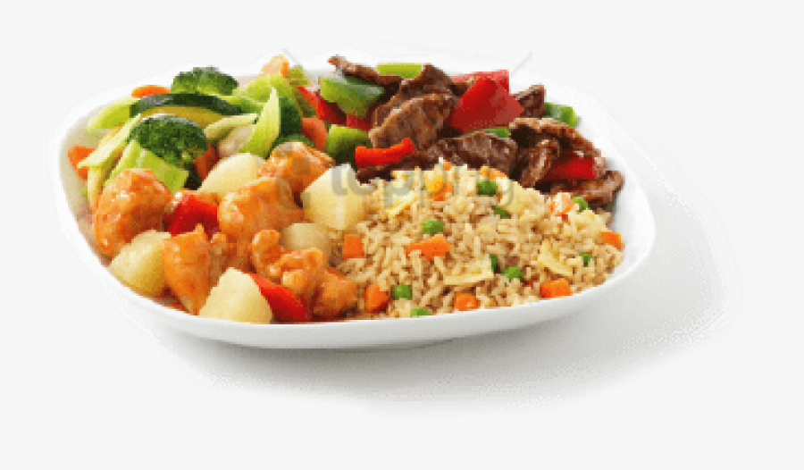 Transparent Fried Rice Clipart - Fried Rice Plate Png, Transparent Clipart