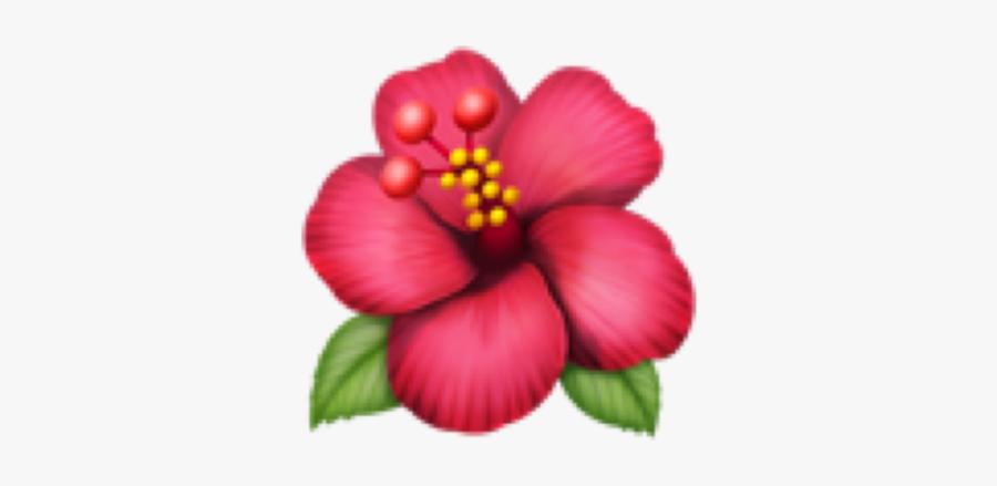 #emojisticker #emoji #emojistickers #flower #pink #green - Flower Emoji, Transparent Clipart
