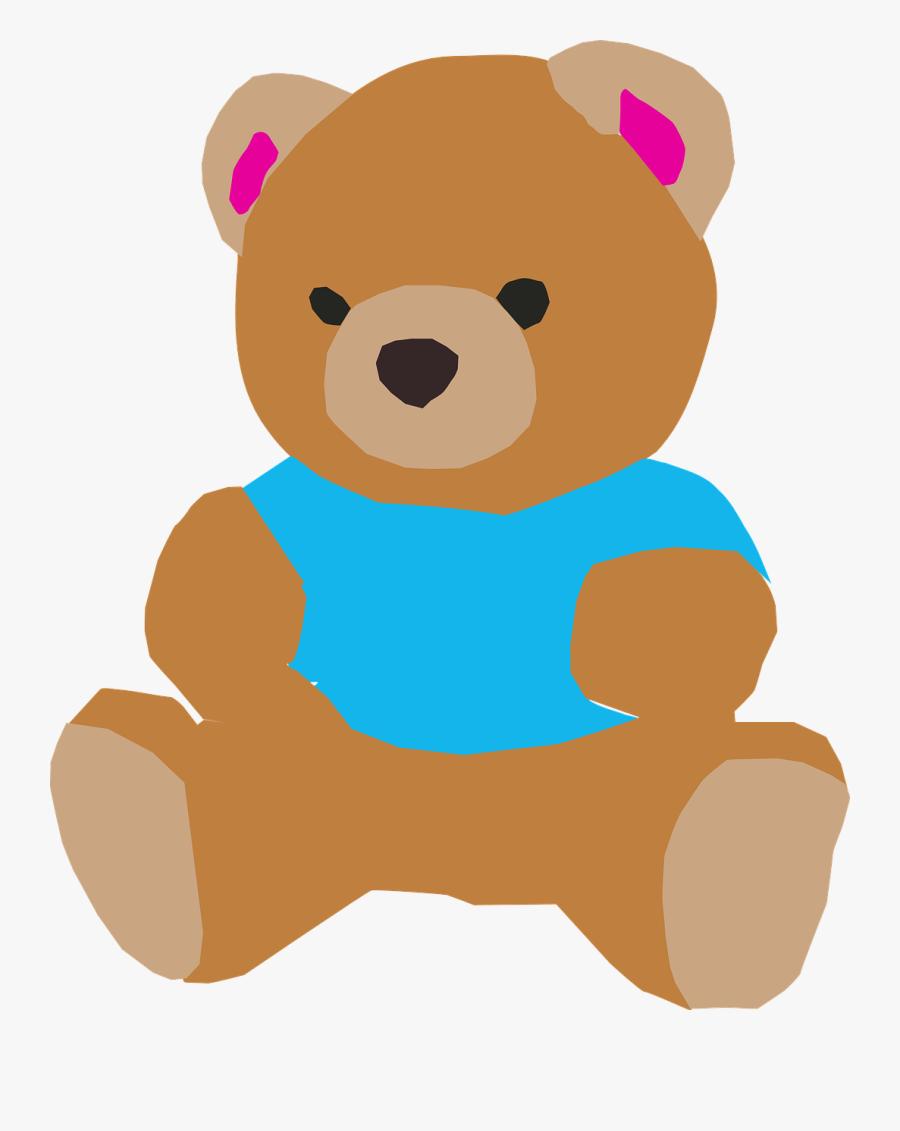 Teddy Bear Doll Clipart - Bear Animasi, Transparent Clipart