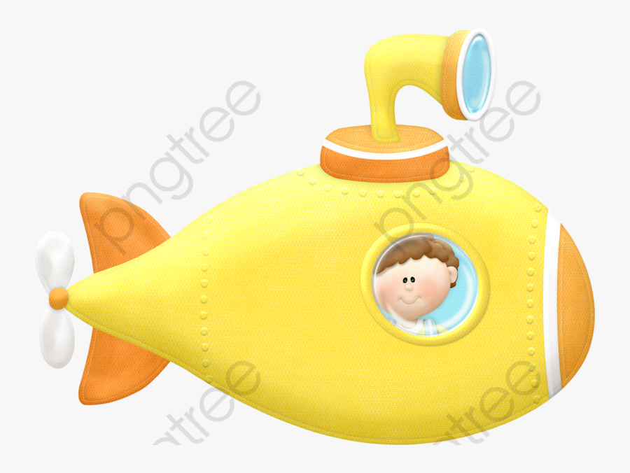 Submarine Clipart Toy - Baby Toys, Transparent Clipart