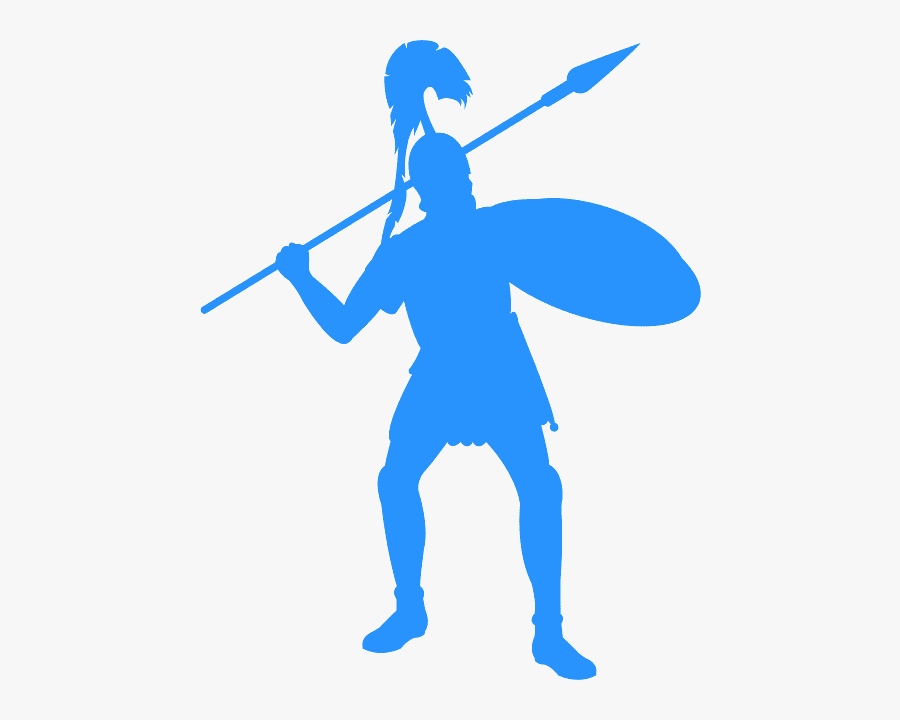 Pink Roman Soldier, Transparent Clipart