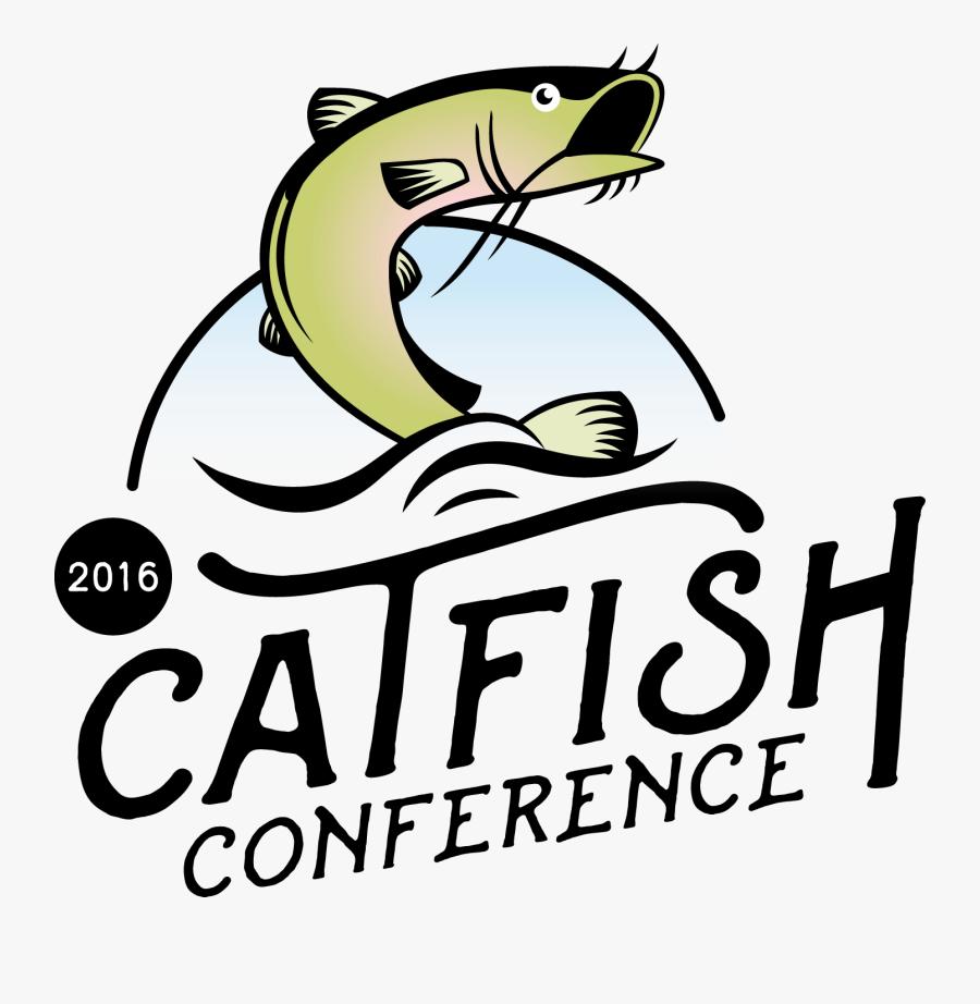 Transparent Cat Fish Clipart - Catfish Logo Png, Transparent Clipart