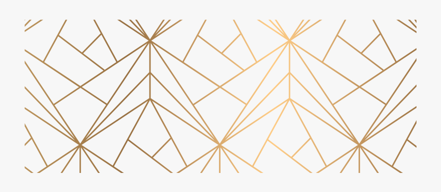Gold Pattern Png - Geometric Gold Pattern Window Curtains, Transparent Clipart