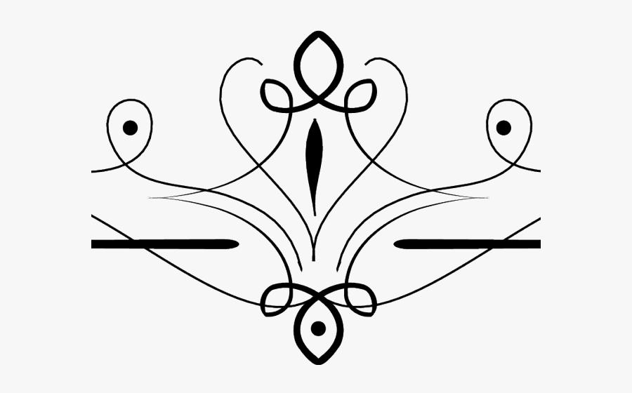 Cliparts X Carwad Net - Fancy Lines Png, Transparent Clipart