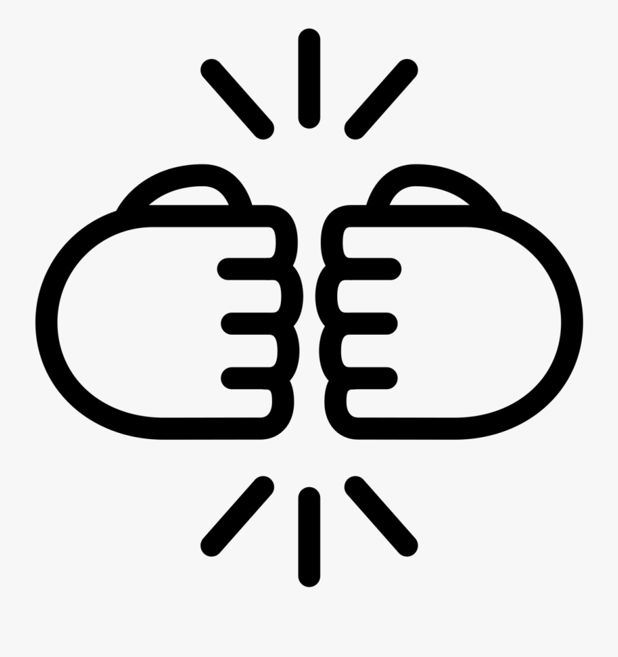 City Buddy Fist Bump Creativity - Free Fist Bump Clipart, Transparent Clipart