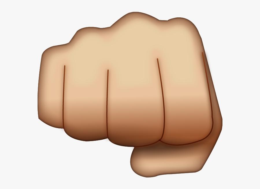Fist Emoji Png, Transparent Clipart