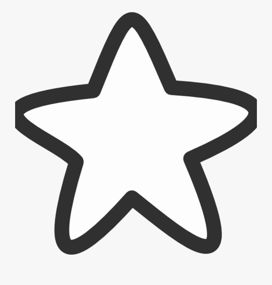 Shooting Star Clipart To Free - Cute Star Black And White, Transparent Clipart