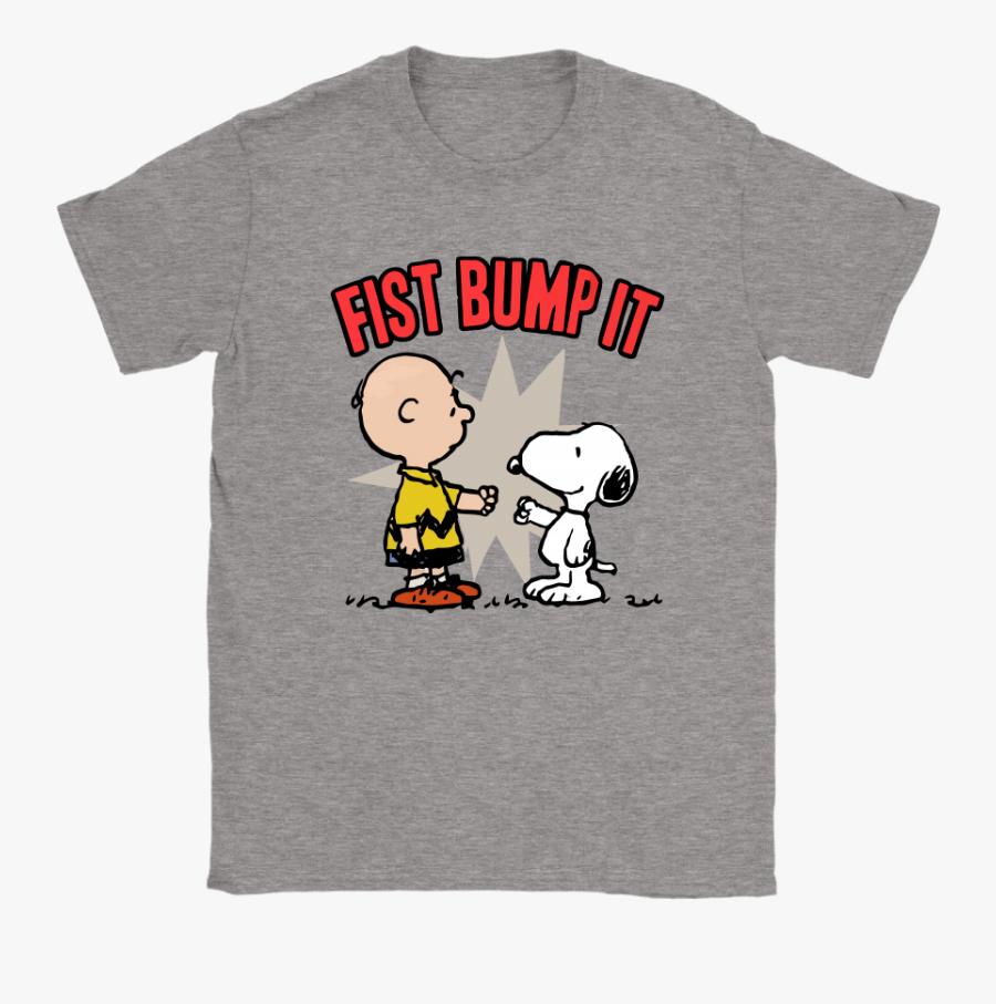 Snoopy Fist Bump, Transparent Clipart