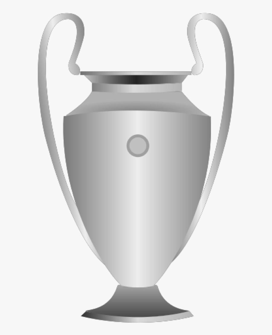 Cup Clipart Champions League - Transparent Champions League Trophy, Transparent Clipart