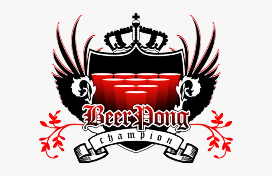 Beer Pong Champion Royal Crest - Beer Pong Champion Png, Transparent Clipart