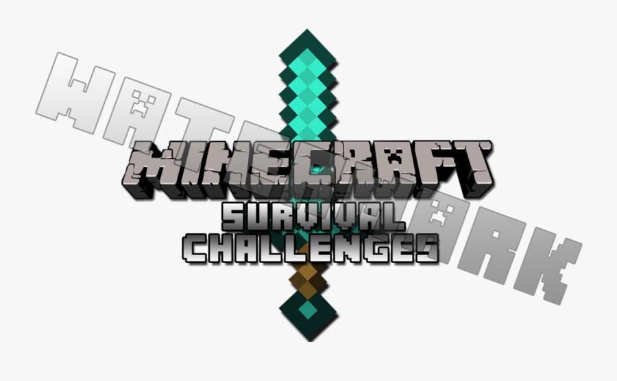 Minecraft Hunger Games Logo Png Clipart Freeuse Download Survival Minecraft Logo Free Transparent Clipart Clipartkey