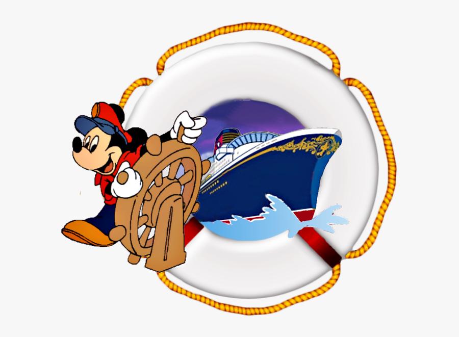 Disney Scrap Stuff Greenacresgardens - Mickey Mouse Disney Cruise Line, Transparent Clipart