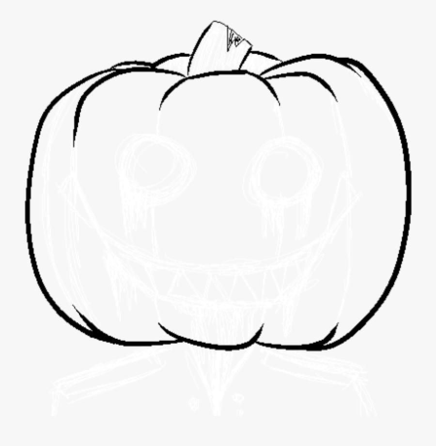 Pumpkin Outline Clipart Heart Clipart Hatenylo - Outline Pumpkin Clipart Black And White, Transparent Clipart