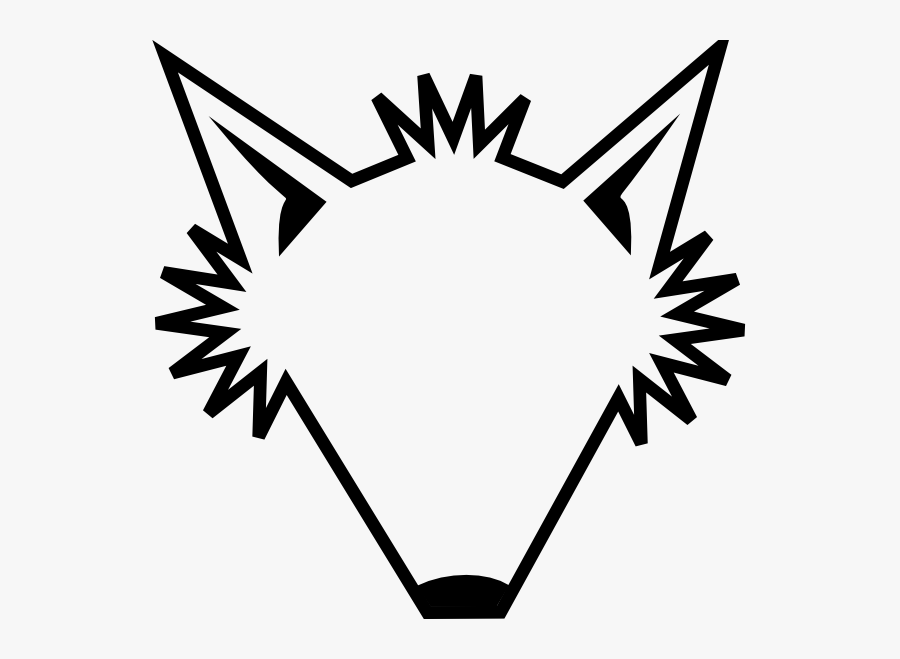 Fox Tv Logo Eps Pdf Vector Free Download Icons Clipart - Cartoon Wolf Face Outline, Transparent Clipart