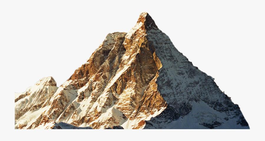 Wilderness Clipart Rock Mountain - Klein Matterhorn, Transparent Clipart
