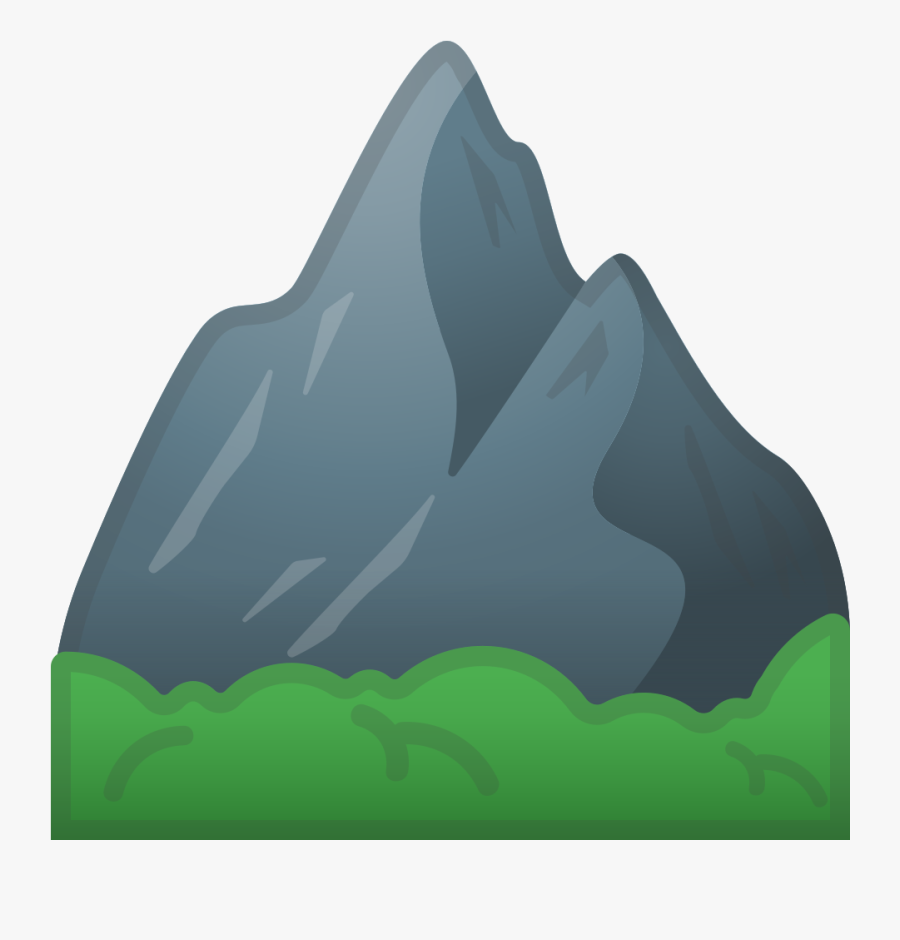 Whatsapp Mountain Emoji Png - Mountain Emoji Whatsapp, Transparent Clipart