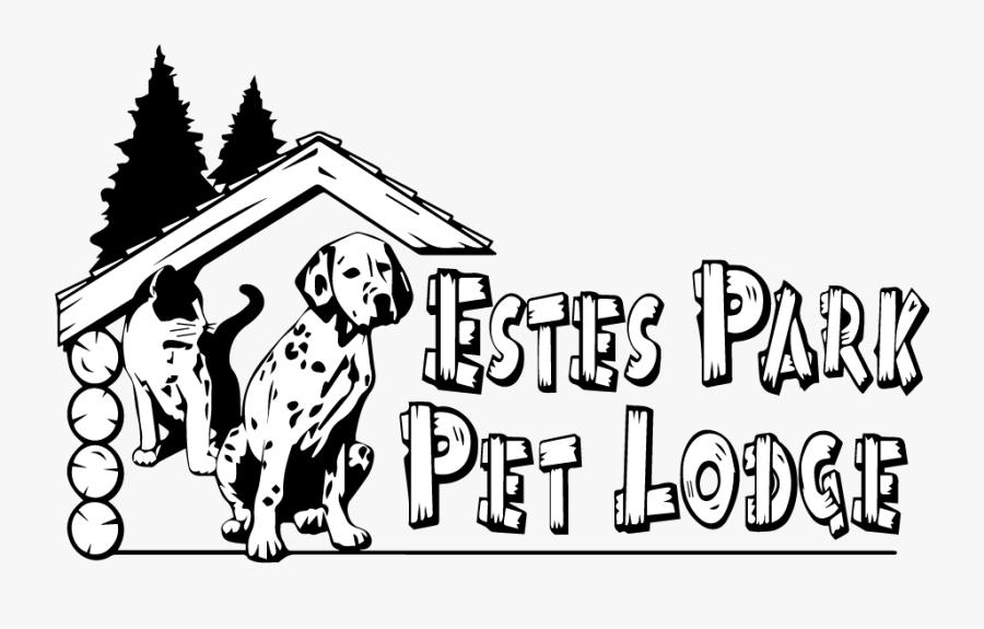 Estes Pet Lodge - Dalmatian, Transparent Clipart