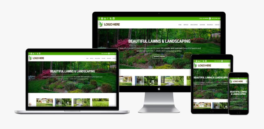 Lawn Care Websites Design Template Landscape Website Free Transparent Clipart Clipartkey