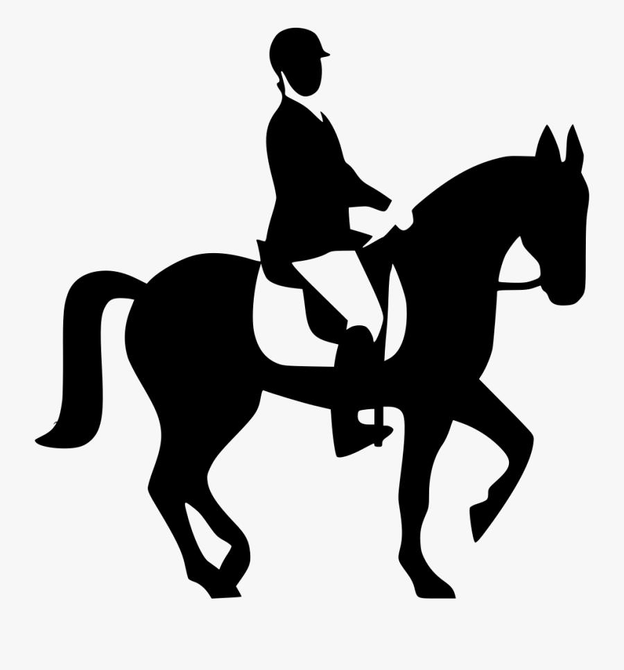Transparent Barrel Racer Clipart - Horse Riding Svg Files, Transparent Clipart