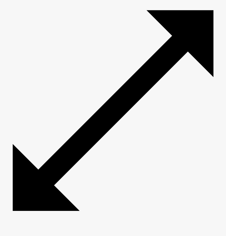 This Is A Image Of A Doubled-sided Arrow, Transparent Clipart