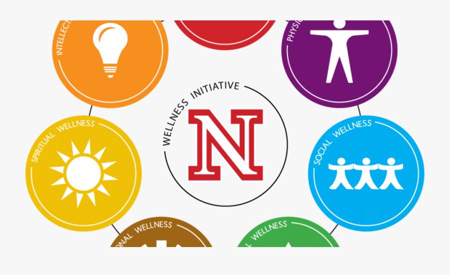 Sessions To Explore Benefits Of Heart-healthy Diet - Wellness Wheel University Of Nebraska, Transparent Clipart