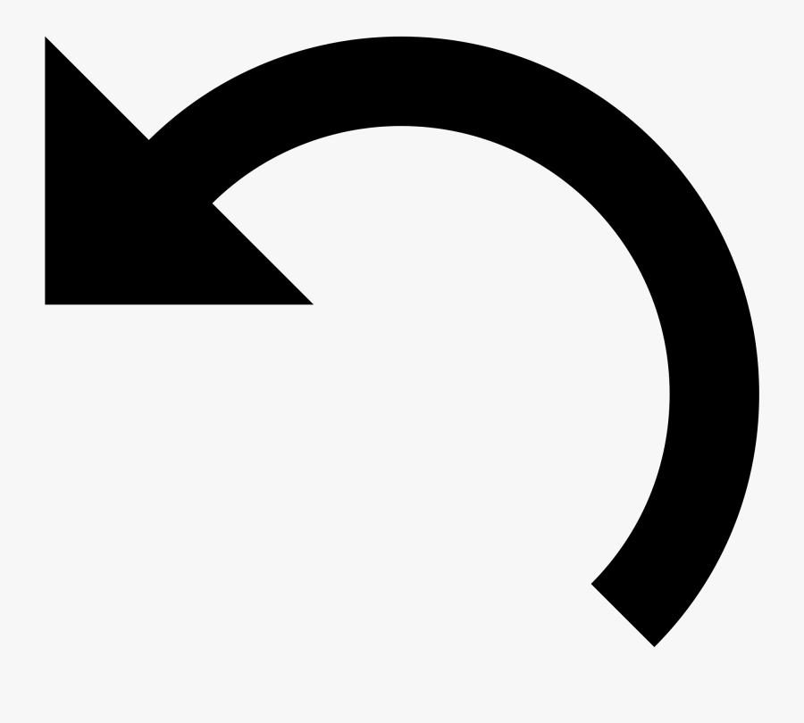 Half Circle Arrow Icon Clipart , Png Download - Half Circle Arrow Icon, Transparent Clipart